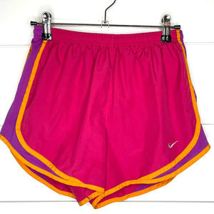 Nike Dri-Fit Pink Athletic Workout Shorts - Small